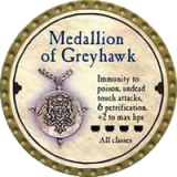 Medallion of Greyhawk