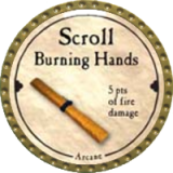 Scroll Burning Hands
