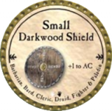 Small Darkwood Shield