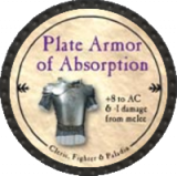 Plate Armor of Absorption