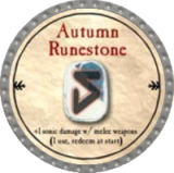 Autumn Runestone