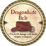Dragonhide Belt