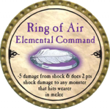 Ring of Air Elemental Command