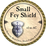 Small Fey Shield