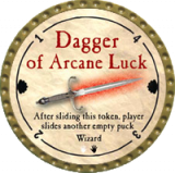 Dagger of Arcane Luck