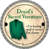 Druid's Sacred Vestments