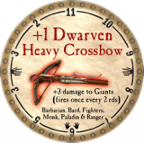 +1 Dwarven Heavy Crossbow