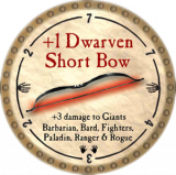 +1 Dwarven Short Bow