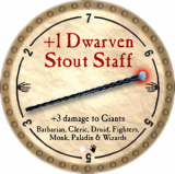 +1 Dwarven Stout Staff