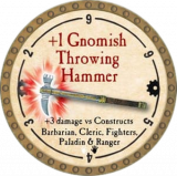 +1 Gnomish Throwing Hammer