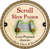 Scroll Slow Poison