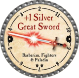 +1 Silver Great Sword