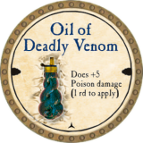 Oil of Deadly Venom