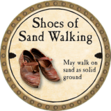 Shoes of Sand Walking