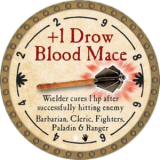 +1 Drow Blood Mace