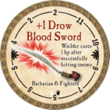 +1 Drow Blood Sword