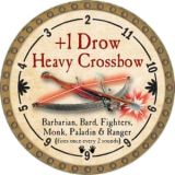 +1 Drow Heavy Crossbow