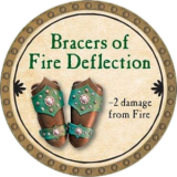Bracers of Fire Deflection