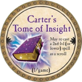 Carter's Tome of Insight