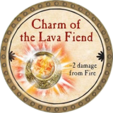 Charm of the Lava Fiend