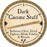 Dark Gnome Staff