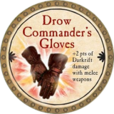 Drow Commander's Gloves