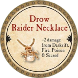 Drow Raider Necklace