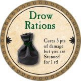 Drow Rations