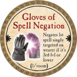 Gloves of Spell Negation