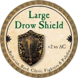 Large Drow Shield
