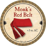 Monk's Red Belt