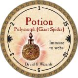 Potion Polymorph (Giant Spider)