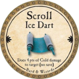 Scroll Ice Dart