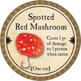 Spotted Red Mushroom