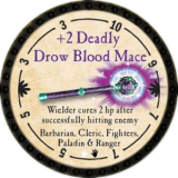 +2 Deadly Drow Blood Mace