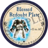 Blessed Redoubt Plate
