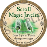 Scroll Magic Javelin