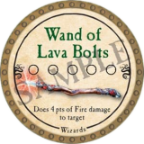Wand of Lava Bolts