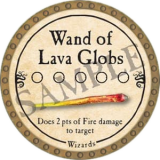 Wand of Lava Globs