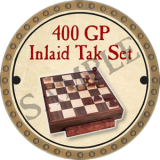 400 GP Inlaid Tak Set