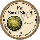 Fae Small Shield
