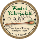 Wand of Yellowjackets
