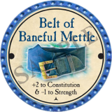 Belt of Baneful Mettle