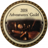 (OLD, Unusable) 2018 Adventurer's Guild Token