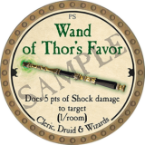Wand of Thor's Favor