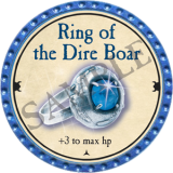 Ring of the Dire Boar