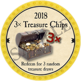 (OLD, Unusable) 3x Treasure Chips (2018)