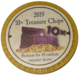 (OLD, Unusable) 10x Treasure Chips (2019)