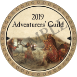2019 Adventurer's Guild Token