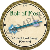 Bolt of Frost
